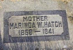 Marinda <i>Woodward</i> Hatch