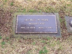 Lucille W <i>Campbell</i> Hoff