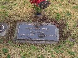 Harold W. Hoff