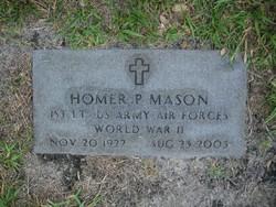 Homer P Mason
