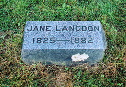 Sarah Jane <i>VanHorn</i> Langdon