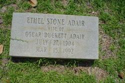 Ethel <i>Stone</i> Adair