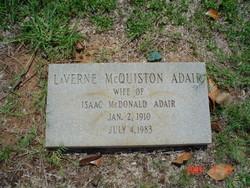 LaVerne <i>McQuiston</i> Adair