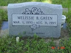 Melissie Bernice <i>Hedrick Perigo</i> Green