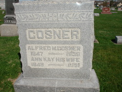 Sarah Ann <i>Kay</i> Cosner