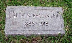 Alfa B Bassinger