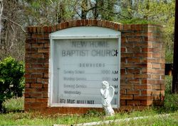 New Home Baptist Church Cemetery