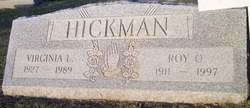 Virginia Lou <i>Berry</i> Hickman