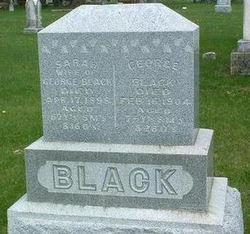 Sarah E. <i>White</i> Black