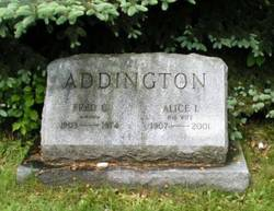 Alice I. Addington