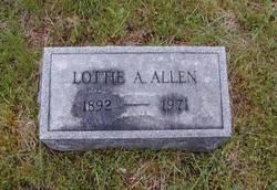 Lottie A. Allen