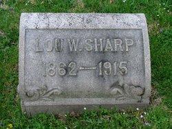 Lou W Sharp