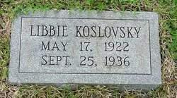 Libby Koslovsky