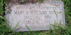 Mary E. <i>Williams</i> Boyce