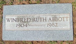 Winifred Ruth Abbott