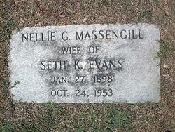 Nellie G. <i>Massengill</i> Evans