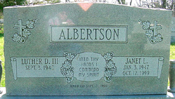 Janet Lynn <i>Scott</i> Albertson