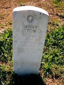 Henry Slatton, Jr