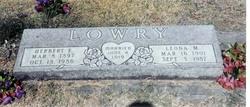 Herbert Earl Lowry