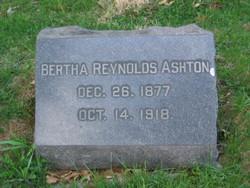 Bertha <i>Reynolds</i> Ashton