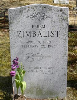 Efrem Zimbalist, Sr
