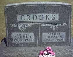 Carol Lavina <i>Parson</i> Crooks