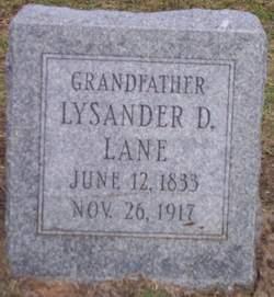 Lysander D Lane