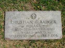 Christian G Badger