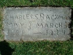 Charles Swen Backman