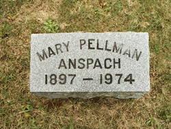 Mary <i>Pellman</i> Anspach