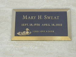 Mary H. Sweat