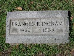 Frances Elizabeth <i>Anderson</i> Ingram