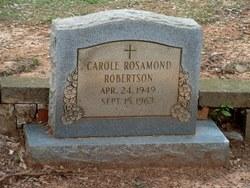 Carole Rosamond Robertson