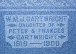 Wealthy Mary Jane <i>Cartwright</i> Mickel