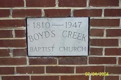 Boyds Creek Cemetery