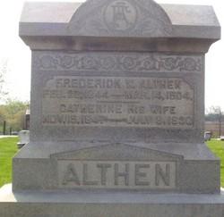 Pvt Frederick William Althen