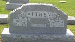 Annettie M Althen
