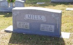 Lunie Mae <i>Gilliam</i> Mills