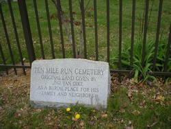 Ten Mile Run Cemetery