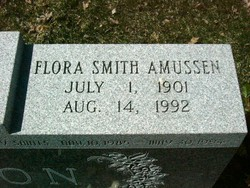 Flora Smith <i>Amussen</i> Benson