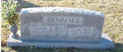 Ollie Mae Mattie <i>McBurnett</i> Brimmage