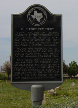 Old Fort Stockton Cemetery