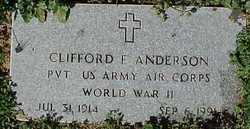 Clifford Franklin Cliff Anderson
