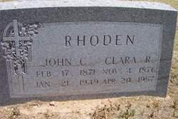 John C Rhoden