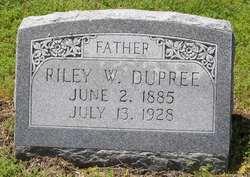 Riley W Dupree