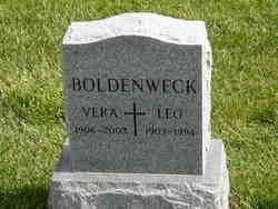 Vera <i>Van Horn</i> Boldenweck