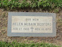 Helen <i>McBain</i> Bedford
