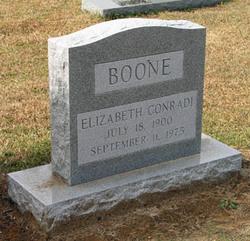 Elizabeth Lillian <i>Conradi</i> Boone