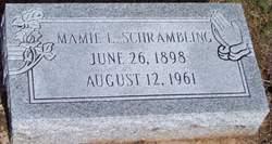 Mary Iva  Mamie  <i>Rhoden</i> Schrambling