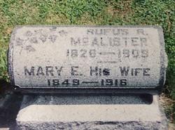 Rufus Riley McAlister